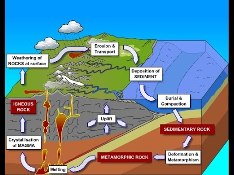 Rock types igneous sedimentary metamorphic rocks pmf ias ccuart Image collections