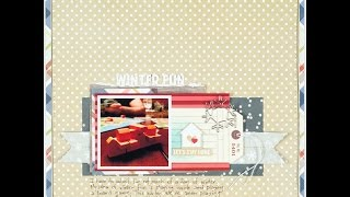 SCrapbooking Process Winter Fun
