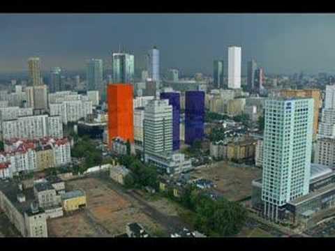 Warsaw future skyline