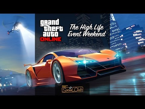 GTA Online: The High Life Rockstar Broadcast Show feat Achievement Hunter