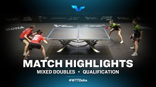 Taikalova/Sidorenko vs Kurmangaliyev/Lavrova | WTT Contender Doha 2021 | XD | R32 Highlights
