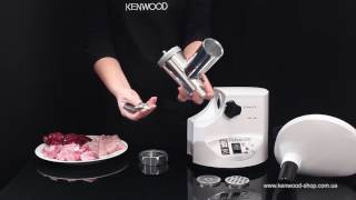 Мясорубка Kenwood MG 450 - видео обзор