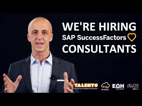 We're hiring SuccessFactors Consultants and Contractors