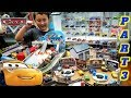 COMPLETE DISNEY CARS COLLECTION! ALL MINI RACERS PLAYSETS, BOXES AND PACKS! Part 3