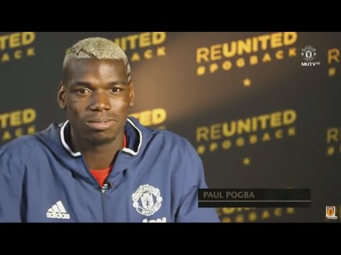 Paul Pogba- The First Interview - Pogba Exclusive MUTV Interview