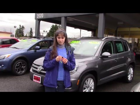 2012 Volkswagen Tiguan SE 4Motion (Stock #96049) at Sunset Cars of Auburn