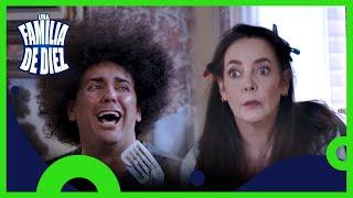 Una familia de diez C1: La familia vs el hoyo | T4 | Distrito Comedia