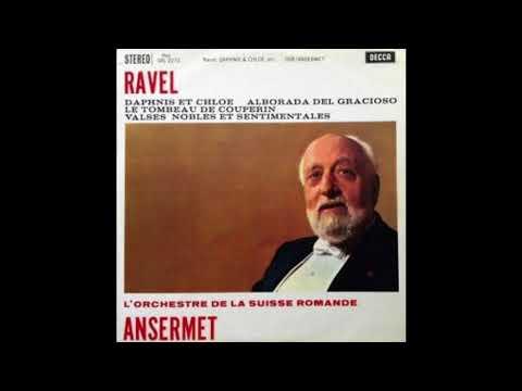 Ravel Daphnis Et Chloe ANSERMET, L'Orchestre De La Suisse Romande
