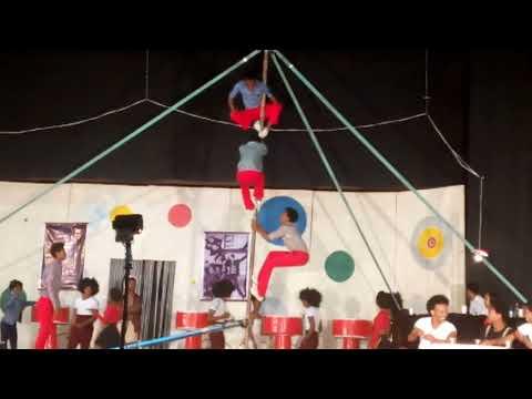 Addis Africa circus  teeter board act