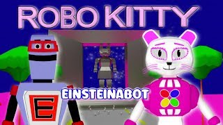 Robo Kitty 3D Nursery Rhyme Animation Music Video fun cute adorable robot waltz