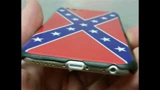 Buy iPhone 6/6s Confederate Rebel Flag Phone Case Cover