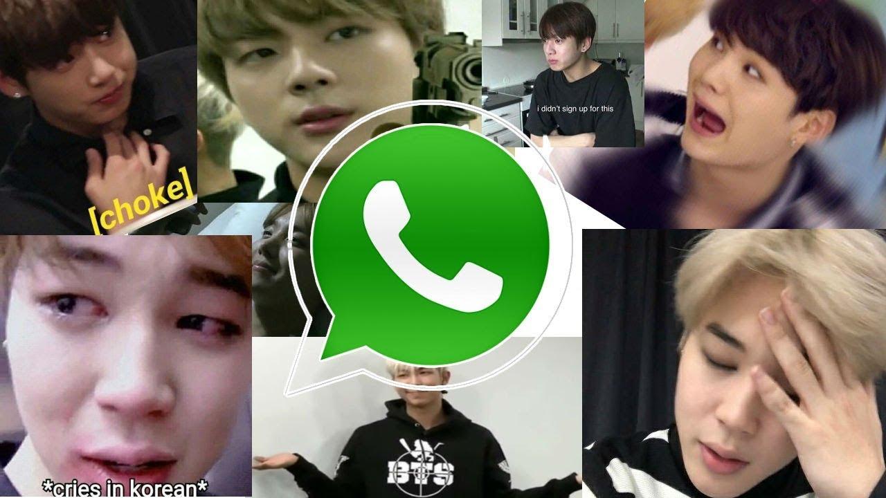 Tutorial Stickers de memes de BTS en Whatsapp (y Blackpink, Nct, Exo) |  SOLO ANDROID