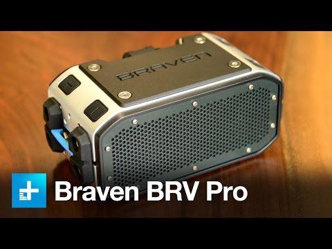 Braven BRV Pro Bluetooth Speaker - Hands On Review