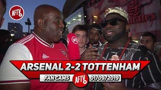 Arsenal 2-2 Tottenham | We Showed Passion To Fight Back!! (Kelechi)