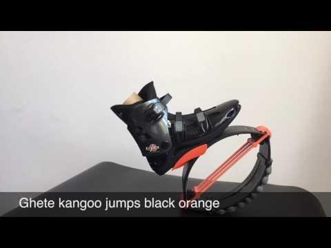 Ghete kangoo jumps black orange