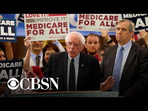 "Sanders' ""Medicare For All"" plan gets praise from crowd at Fox News town hall"