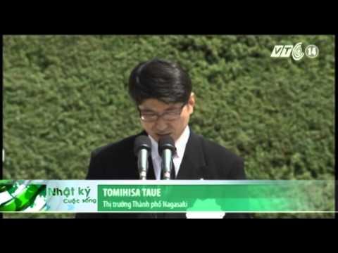 VTC14_Nhật Bản tưởng niệm nạn nhân vụ ném bom nguyên tử Nagasaki_09.08.2013