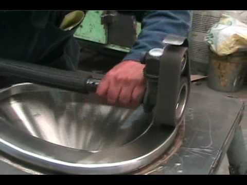 Rotoflex Pulidora Industrial Inoxidable Banda Abrasiva