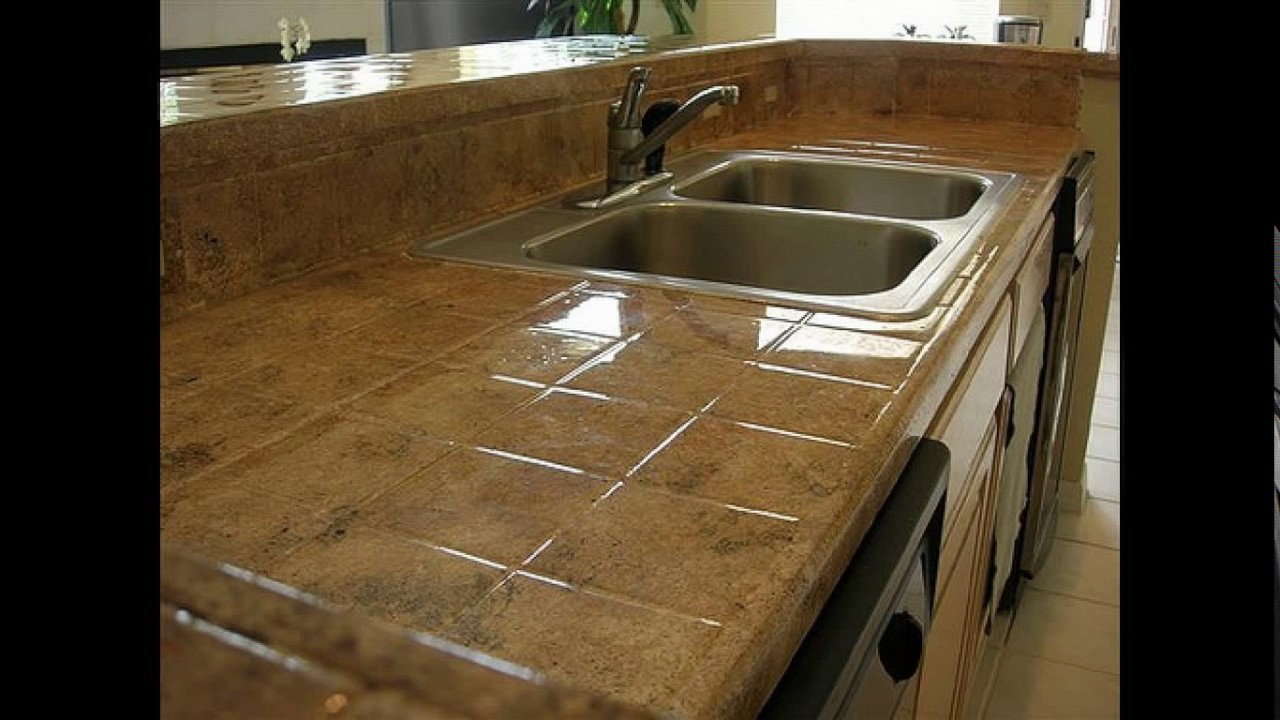 Ceramic Tile Kitchen Countertops Designs Youtube