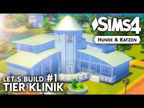 Tierklinik bauen #1 | Die Sims 4 Hunde & Katzen Let's Build