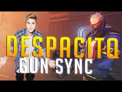 Despacito ft  Luis Fonsi, Daddy Yankee, Justin Bieber (Jeydee Club Remix)   Overwatch Gun Sync