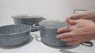 Набор посуды 8пр Klausberg KB7324 - обзор
