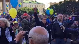 Марш мира в Питере