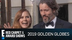 Amy Adams & Darren Le Gallo Shout Out Daughter at 2019 Globes | E! Red Carpet & Award Shows