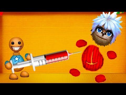АНТИСТРЕСС Кик зе Бади против Превращений #60 Кид проверяет на прочность игрушку Kick the Buddy