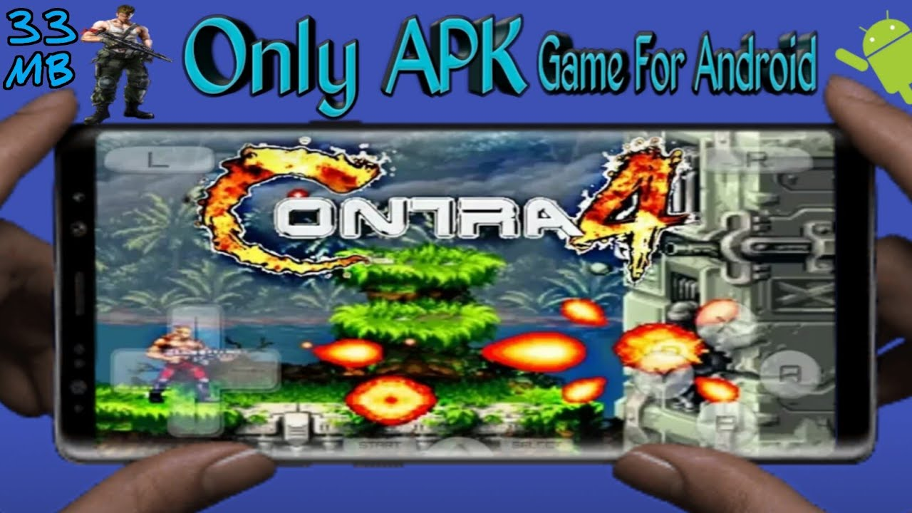 {APK}How To Download & Install Contra 4 Game For Android Devices(Urdu  /Hindi)|Now Download APK Game|