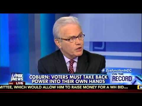 Senator Tom Coburn with Greta van Susteren discussing an Article V Convention of States