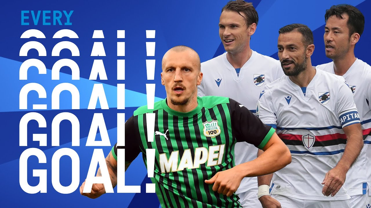 Sampdoria score 3 past Atalanta and Chiricheș STUNNING goal! | EVERY Goal | Round 5 | Serie A TIM