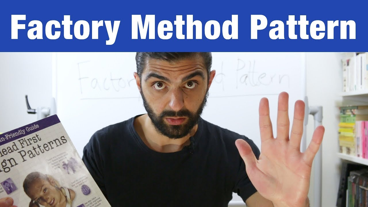 Factory Method Pattern – Design Patterns (ep 4) - YouTube
