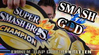 """SMASH GOD"" - Eminem ""Rap God"" Parody of Super Smash Brothers by Mat4yo"
