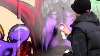 Court Jester Graffiti Wall