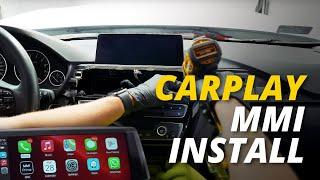 CarPlay MMI Plus Installation