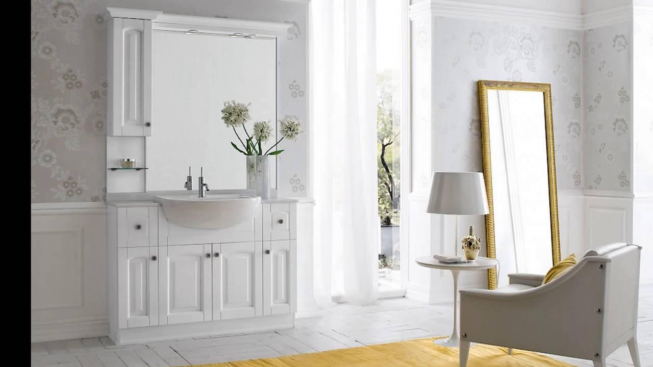 Acanthis mobili arredo bagno classici tradizionali youtube for Offerta mobili bagno