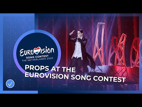 A Burning Piano and a Hamster Wheel - Props at the Eurovision Song Contest