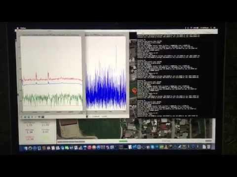 Drone + SDR: USRP E310 airborne spectrum monitoring (teaser)