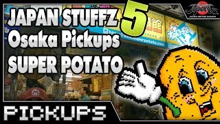 Japan Stuffz 5 - GIVEAWAY! - Super Potato Osaka Pickups!