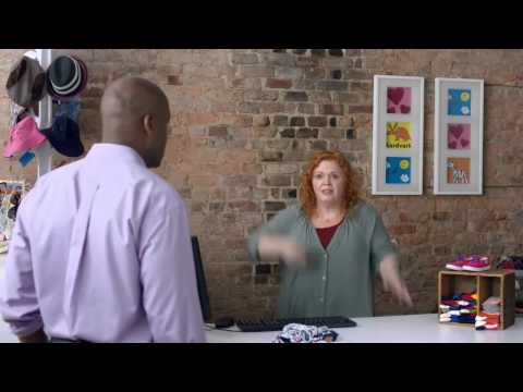What it Feels Like to Get Your First Customer - Funny GoDaddy Commercial