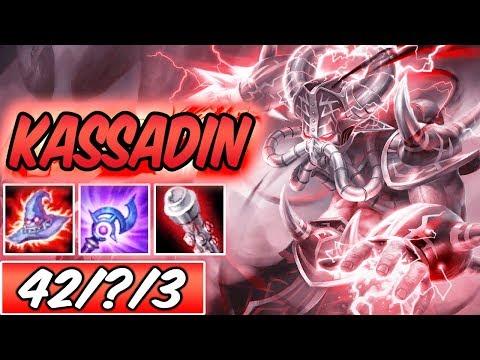 S+ BROKEN INSANE 77k DAMAGE FULL BURST KASSADIN MID DARK HARVEST | Build & Runes | League of Legends