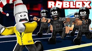 SWAT TEAM ATTACK (Roblox Jailbreak)