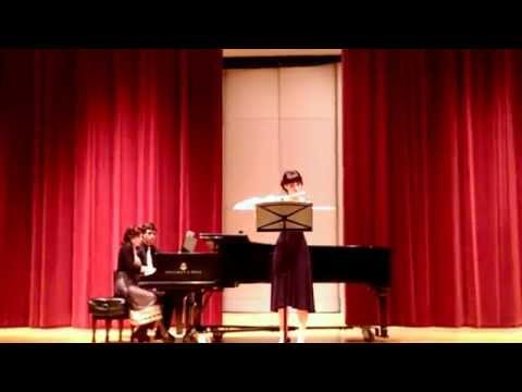 """Senior Recital 2014 """"La Flute de Pan"""" by Jules Mouquet"""