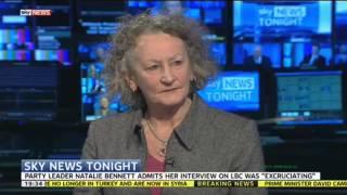 The Green Party's Jenny Jones Defends Natalie Bennett