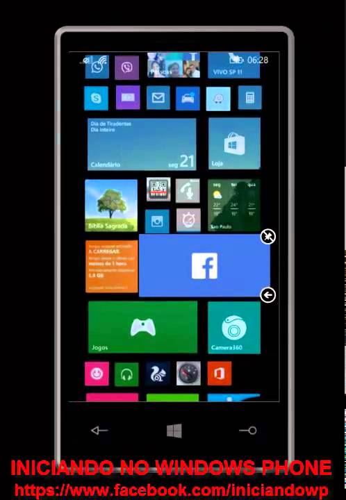 Tiles Transparentes No Windows Phone 8 1