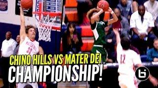 Chino Hills vs Mater Dei BATTLE For Champions...