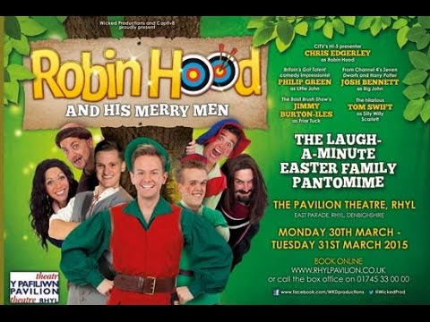 robin hood and his merry men rhyl pavilion theatre youtube. Black Bedroom Furniture Sets. Home Design Ideas