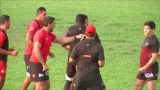 Rugby RCT Toulon Entrainement Délocalisé Stade Victor Marquet La Seyne sur Mer Saison 2018/2019