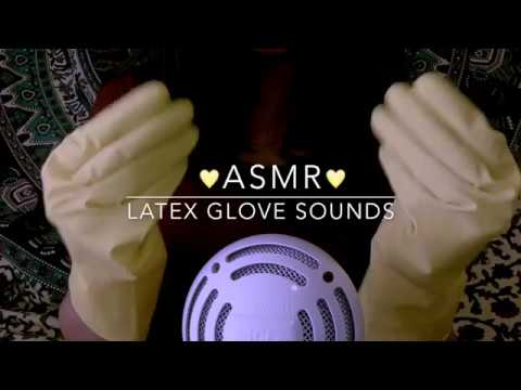 ASMR Latex Glove Sounds No Talking